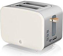 Swan Nordic 2 Slice Toaster - White