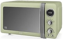 Swan Retro 20-Litre Digital Microwave - Green