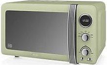 Swan Retro 20-Litre Digital Microwave - Green