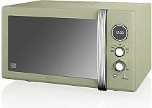 Swan Retro 25 L 900W Countertop Microwave Swan