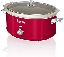 Swan Retro 6.5L Slow Cooker Swan