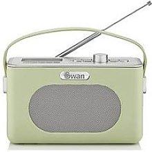 Swan Retro Dab Bluetooth Radio - Green
