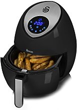 Swan SD90020N 3.2L Low Fat Healthy Air Fryer with