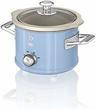 Swan SF17011BLN 1.5 Litre Retro Slow Cooker with