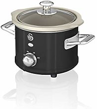 Swan SF17011BN 1.5 Litre Retro Slow Cooker with