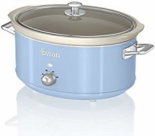 Swan SF17031BLN 6.5 Litre Retro Slow Cooker with