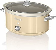 Swan SF17031CN 6.5 Litre Retro Slow Cooker with
