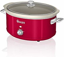 Swan SF17031RN 6.5 Litre Retro Slow Cooker with