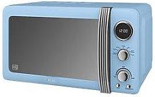Swan Sm22030Bln Retro 20-Litre Digital Microwave -
