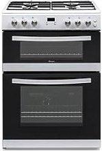 Swan Sx15862W 60Cm Double Gas Cooker - White