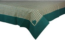 Swanage Tablecloth August Grove Colour: Green,