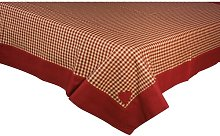 Swanage Tablecloth August Grove Colour: Red, Size:
