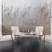 Swaying Reed Mural Wallpaper (SqM)