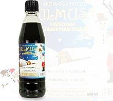 Swedish Christmas Soda Syrup, 500ml - Gives 12.5