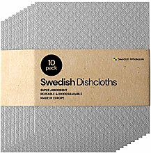 Swedish Dishcloth Cellulose Sponge Cloths - Bulk