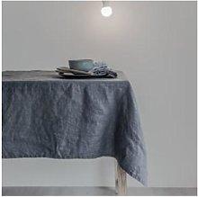Swedish House - Charcoal Linen Tablecloth - Grey