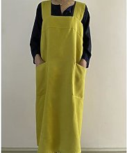 Swedish House - Japanese Style Linen Pinafore