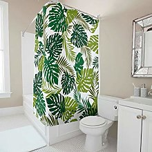 Sweet Luck Leaves Shower Curtain Anti-Mould