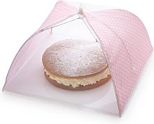 Sweetly Does It Umbrella Food Cover in Pink and