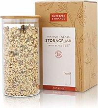 Sweetzer & Orange Glass Food Storage Container
