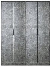 Swift Berlin Part Assembled 4 Door Wardrobe