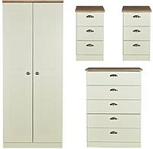 Swift Charlotte 4 Piece Ready Assembled Package -