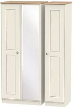 Swift Charlotte Part Assembled 3 Door Mirrored