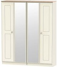 Swift Charlotte Part Assembled 4 Door Mirrored