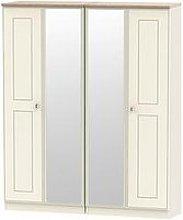 Swift Charlotte Part Assembled 4 Door Mirrored