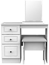 Swift Clarence Ready Assembled Desk, Mirror And