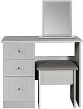 Swift Dakota Dressing Table, Stool And Mirror Set