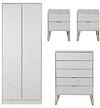Swift Marbella Ready Assembled 4 Piece Package - 2