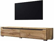 Swift - TV Cabinet/TV Lowboard in Wood Effect