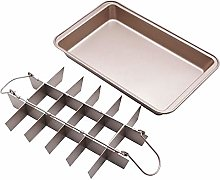 Swiftswan 18-Hole Non-Stick Baking Tray Copper
