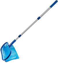 Swimming pool cleaning net with 35-105cm