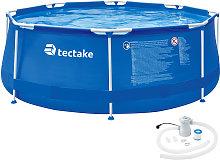 Swimming pool round with pump - Ø 300 x 76 cm