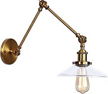 Swing Arm Wall Lamps, Adjustable Antique Metal