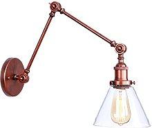 Swing Arm Wall Lamps, Adjustable Metal Wall