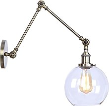 Swing Arm Wall Lamps, Metal Wall Mounted Reading