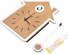 Swing Clock Birdhouse Cuckoo Design Clock Pendulum