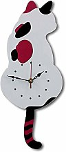 Swing Wall Clock Modern Design Nordic Style Cute