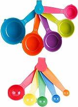 Swinkl Set of 10 Pieces Measuring Spoon Set