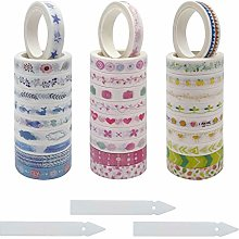 SwirlColor Washi Tape, Washi Masking Tape Colorful