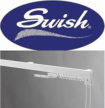 Swish Superluxe 1 piece corded curtain track 225Cm