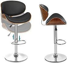 Swivel bar stool Bar chair Chrome Footrest and
