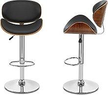 Swivel bar stool Bar chair Wooden Frame Lift