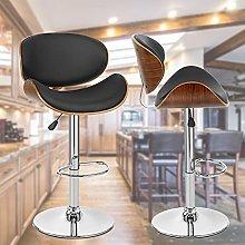 Swivel bar stool Breakfast Bar Stools Wooden Frame
