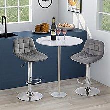 Swivel bar stool Home bar Chrome Footrest and Base
