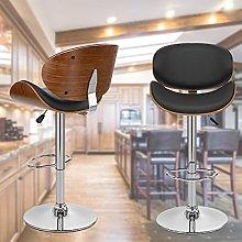 Swivel bar stool Modern Bar Stools Wooden Frame