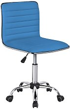 Swivel Computer Desk Chair Faux Leather Adjustable